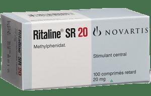 Риталин 20мг 100 Ritalin LA (Метилфенидат)